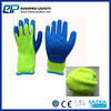 10G Acrylic Shell Latex Coated Napping Lining Gloves Winter Working GLoves