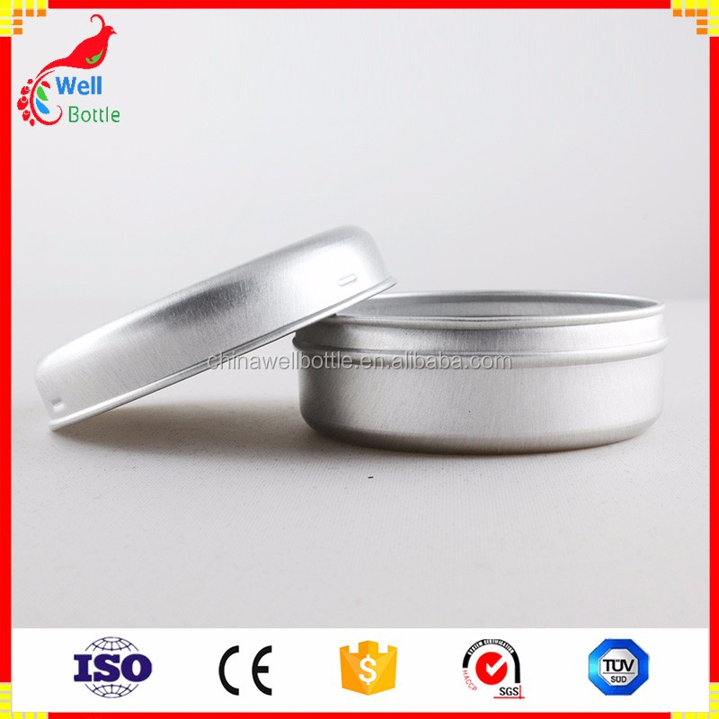 empty tin cans with buckle cap for hand cream AJ2-179T