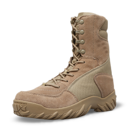 Desert jungle Tactical boots Suede high quality anti skip waterproof Heavy duty
