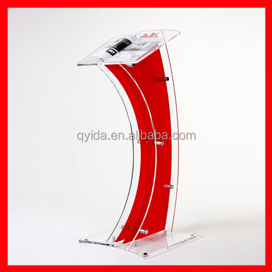 acrylic podium pulpit lectern with SGS test