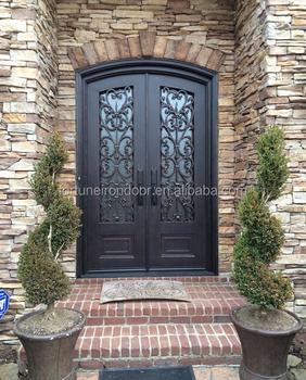 Wrought Iron Luxury Security Door With