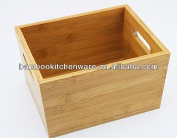Naturel Boîte De Rangement En Bambou - Buy Product on Alibaba.com