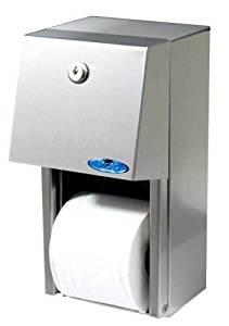 Frost 165 Toilet Paper Dispenser, Metallic