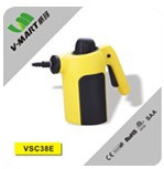 V-MART New model handheld upholstery pressurized vapor steam cleaner as seen on tv with 10 power tool accessories for cleaning