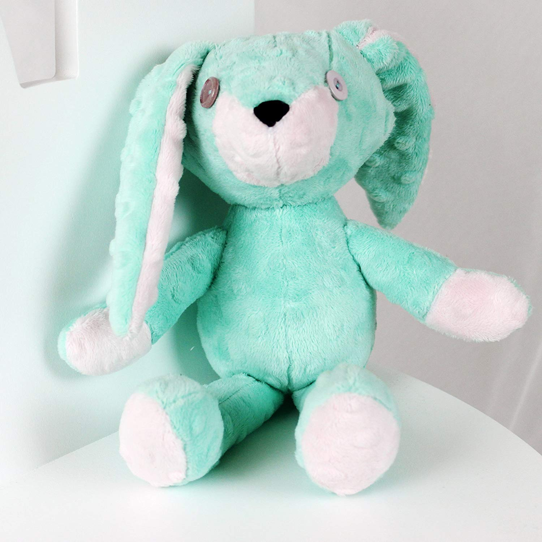 Stuffed Bunny, Plush Rabbit, Handmade Bunny, Soft Toy, Mascot Bunny, Emi