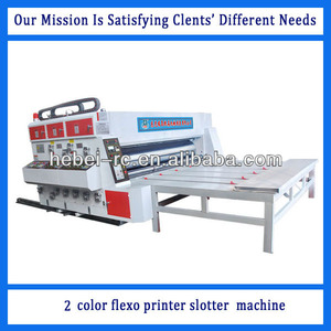 Hebei Cangzhou automatic flexo printer slotter and die cutter machines