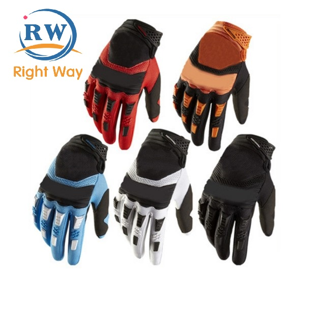 Custom Outdoor Sports Full Finger Cycling Mountain Bike Riding Racing Gloves