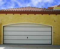 steal garage door panels sale with pedestrian access door and windows