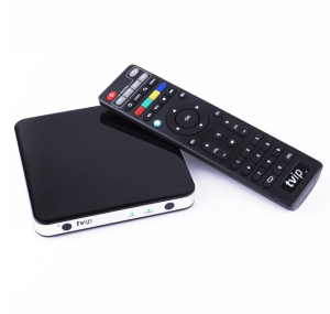 Wechip iptv arabic tv box Dual OS Linux or Android 6.0 Tvip 605 iptv box 2.4/5g Wifi Iptv Receiver Box