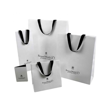 Custom Made High Quality Products Shopping Carry Package Different Specification Paper Bags