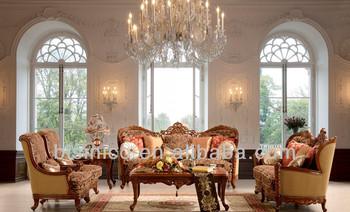 Ornate Spanish Sofa Set Clic Hand Carving Antique Living Room Furniture