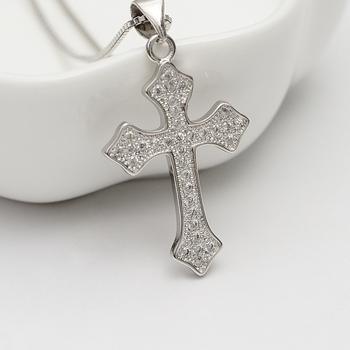 Wollen Online-shopping Kreuz Anhänger 14 Karat Gold Farbe Jesus ...
