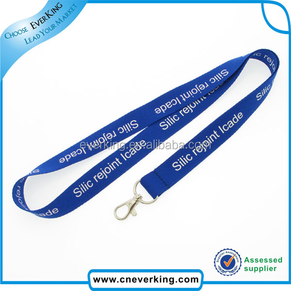 Free lanyard sample with customer logo in sublimation printing