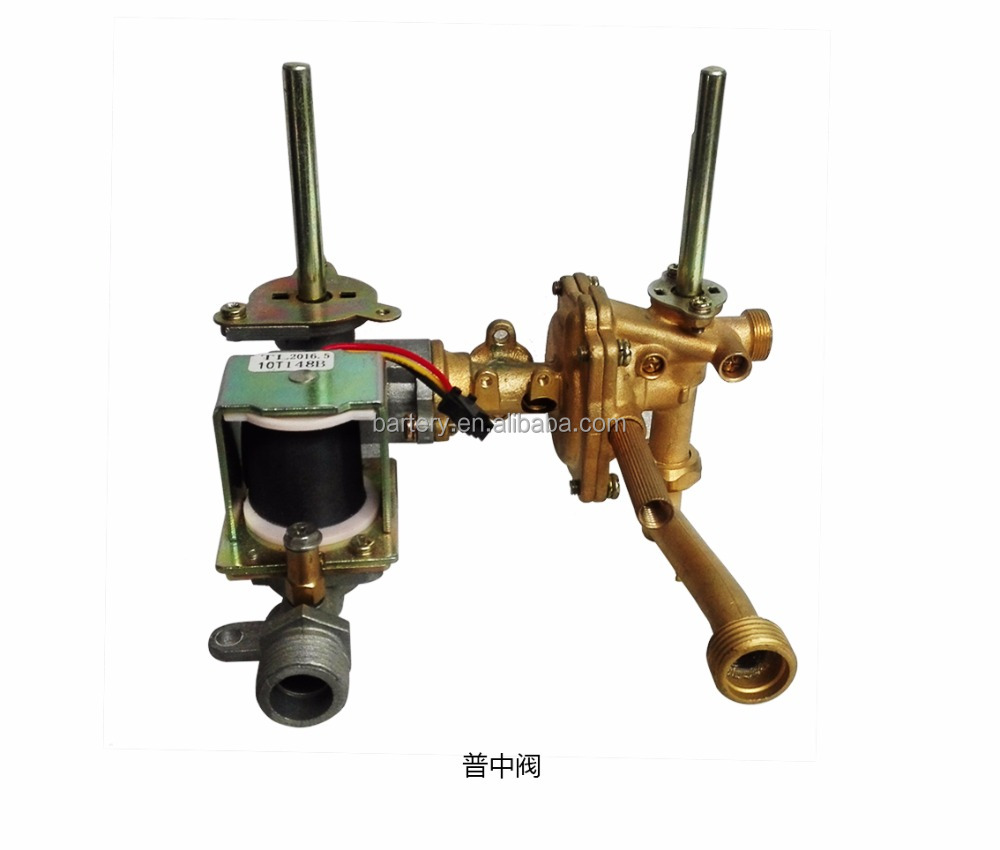 regular copper valve for gas water heater spare parts