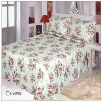 Nantong textile 4Pcs bedding sets luxury custom printed cotton Queen/King Size hotel Bed Quilt/Duvet Cover /Pillowcase christmas