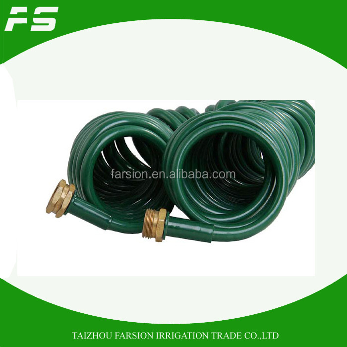 50Ft EVA Self Recoil Spring Hose Flexible Water Hose Pipe