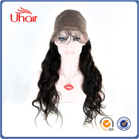 China Factory Price Wholesale Top Quality Brazilian Virgin Human Hair 180% Density Full Lace Wig Sew in
