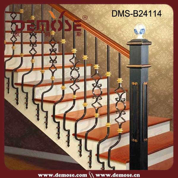 Fabuleux Utilisé En Fer Forgé Rampe D'escalier / Balustrades En Fer Forgé  JX92