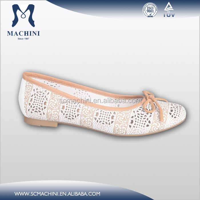 Fully Genuine Leather Laides Wholesale China Flat Women Flat Shoes ...