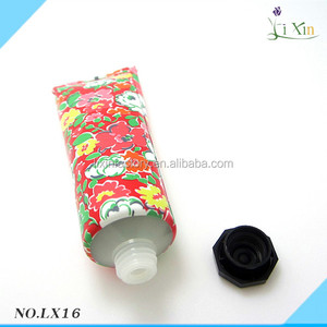 china supplier cheap facial cream plastic red cosmetic tube for sale
