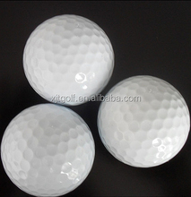 Promotional two pieces tournament golf ball accessories manufacturer