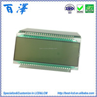 RoHS/REACH Customized Fuel Dispenser Segment LCD Display
