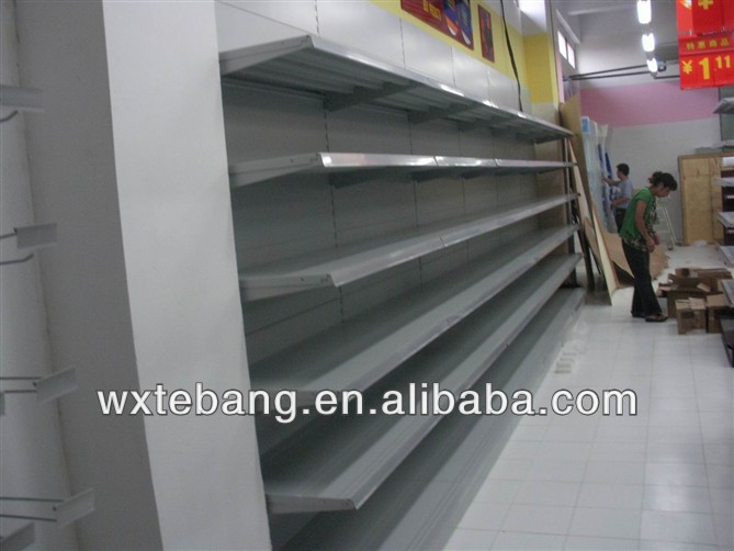 grocery store shelf/shop shelves design/metal furniture