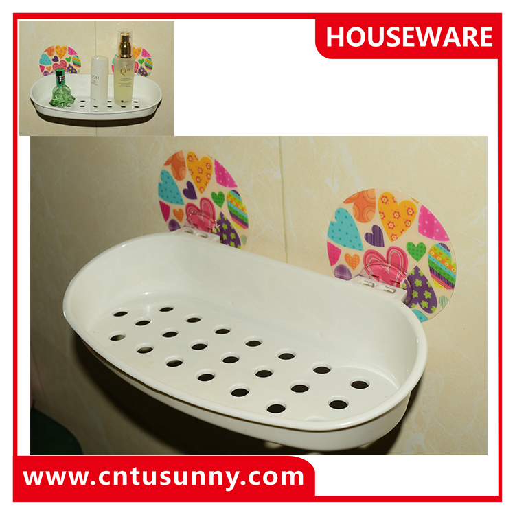 multi purpose plastice shampoo shelf for bathroom shower