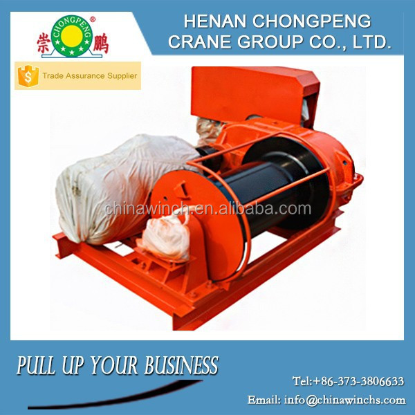 JG Model Electric Winch for Tower Crane Hoisting