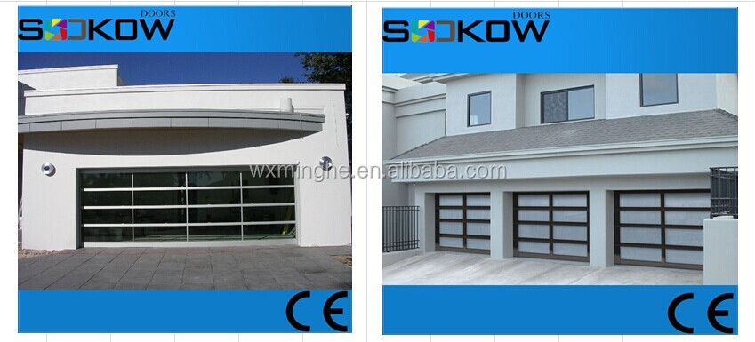 Glass Panel Sectional Garage Door/china Suppliers/tempered/used ...
