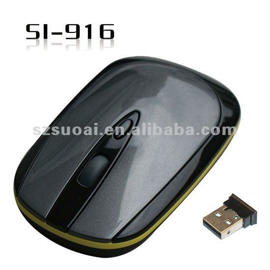 Newest design be ultra-thin 2. 4G wireless mouse