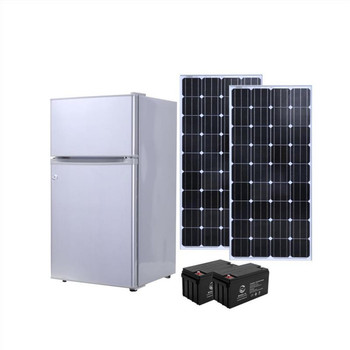 2018 new 128L DC solar refrigerator solar power cheap price 12V/24V home appliance 12V/24V DC solar refrigerator