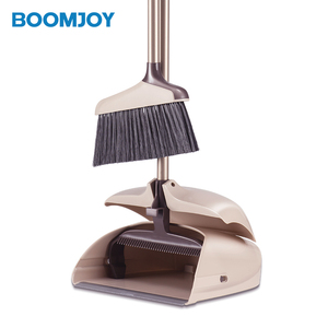 BOOMJOY Y2 Plastic smart design windproof amazon choice online shopping garden cleaning Broom And Dustpan