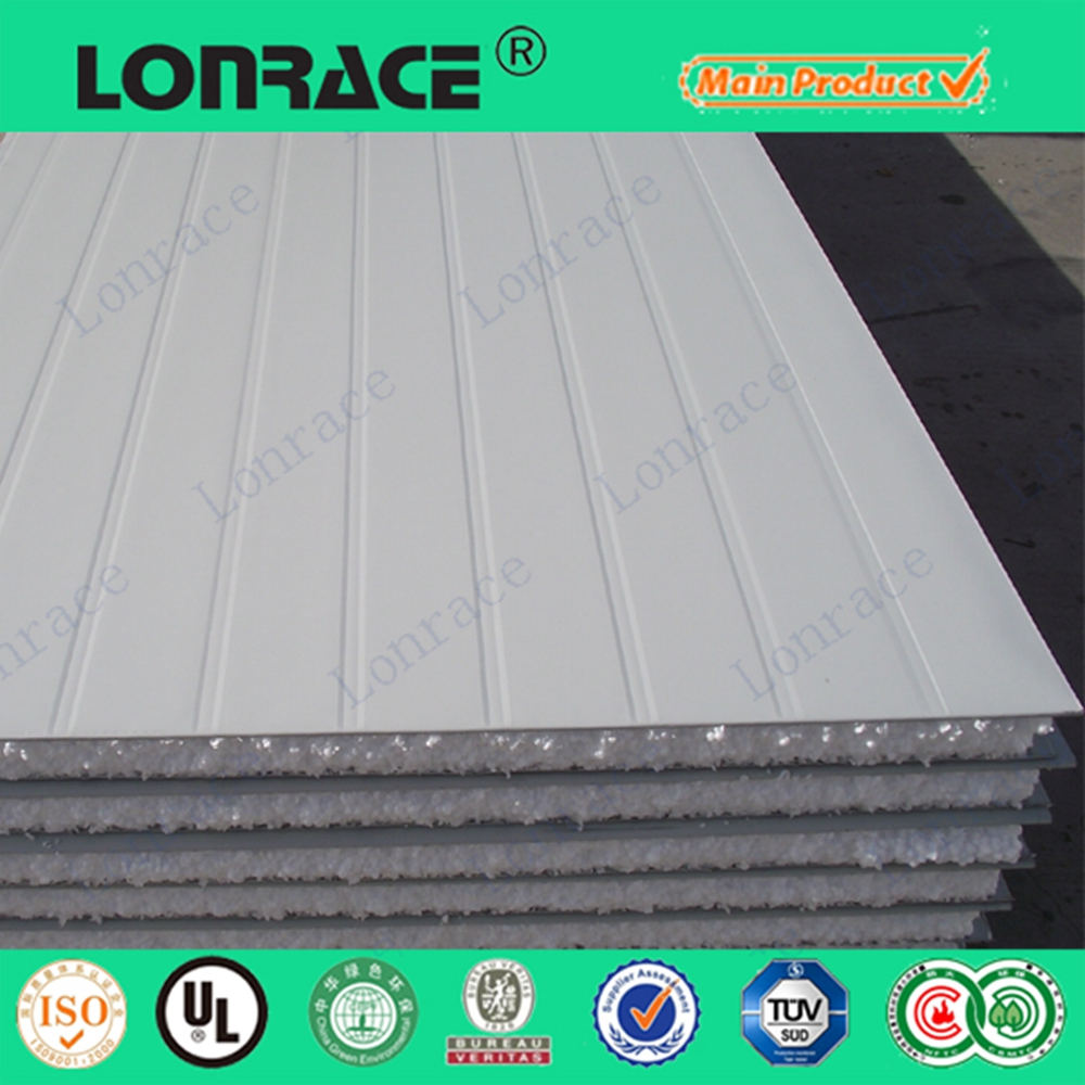 Insulation Lightweight Fireproof Precast Fibre Cement Eps Sandwich Panel