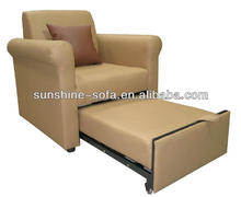 Single Leather Sofa Cum Bed Designs Chair Bed Furniture