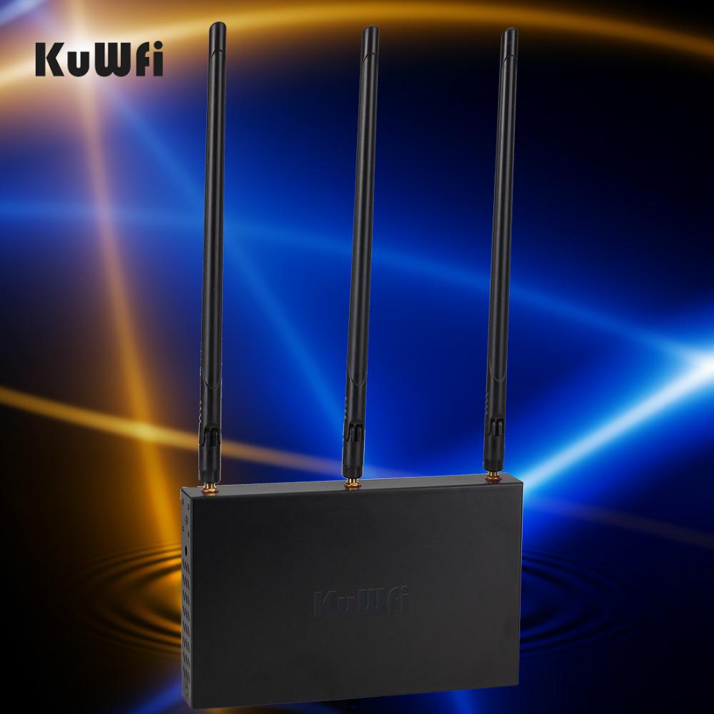 KuWFi 300mbps de alta potencia OpenWRT enrutador inalámbrico precargado  Caja de metal Interfaz USB para wifi usb adaptarse repetir distancia más  larga