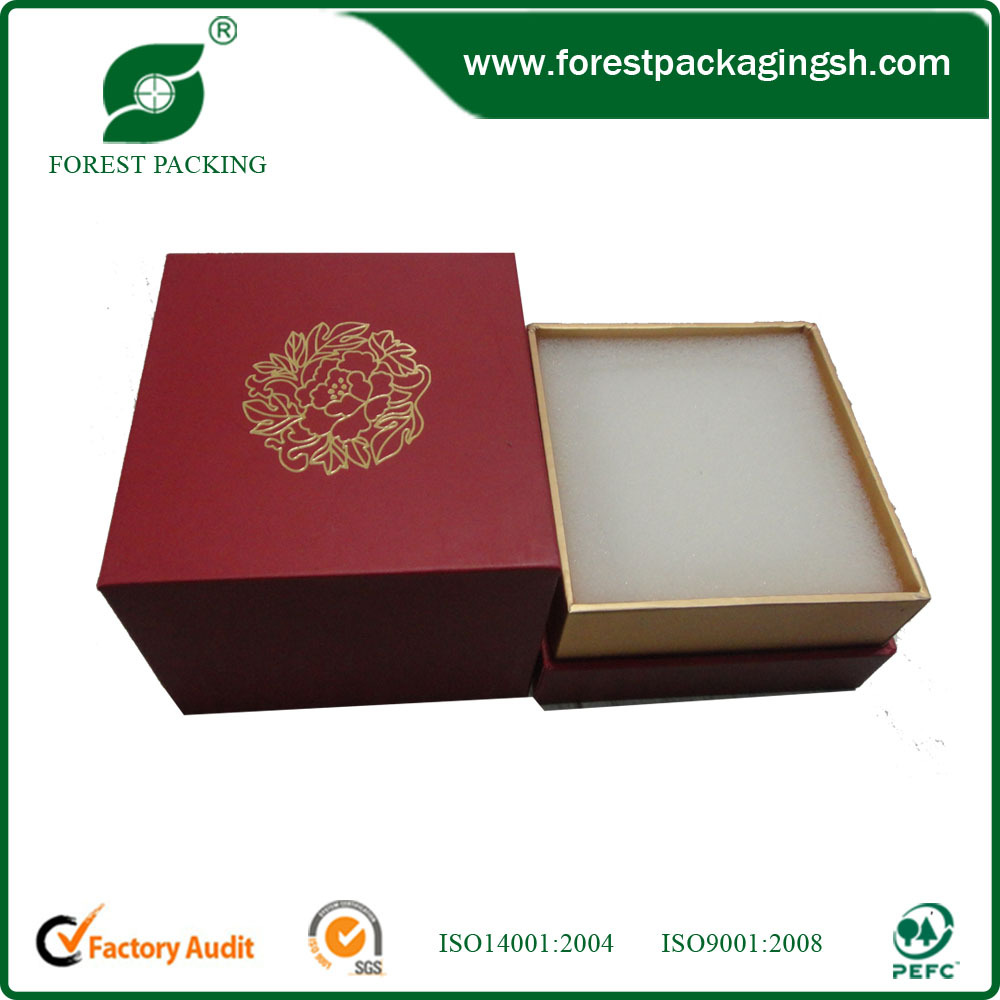 Wholesale custom carboard paper jewelry box