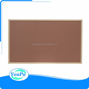 36 x 24 Inch Cork/Dry Erase Combo Board, Magnetic Presentation Whiteboard/Bulletin Combination Board