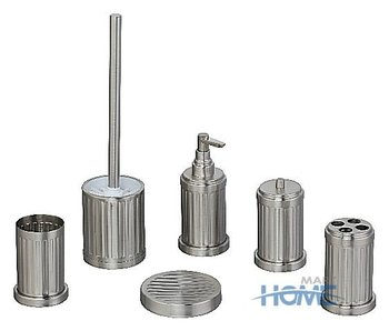6pcs Stainless Steel Bathroom Set