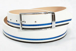 2014 new style leather belt/Unique mens with polo belt manufacturer