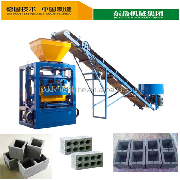 Dongyue QT4-24 hot selling hollow block machine cagayan de oro suppliers