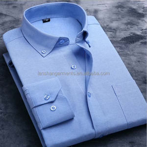 oxford shirt with button down collars new design