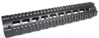 "Vector Optics 12"" .223 5.56 RIS Handguard Picatinny Quad Rail Mount Systems 12 Inch 305mm Full Metal Two Pieces Style"