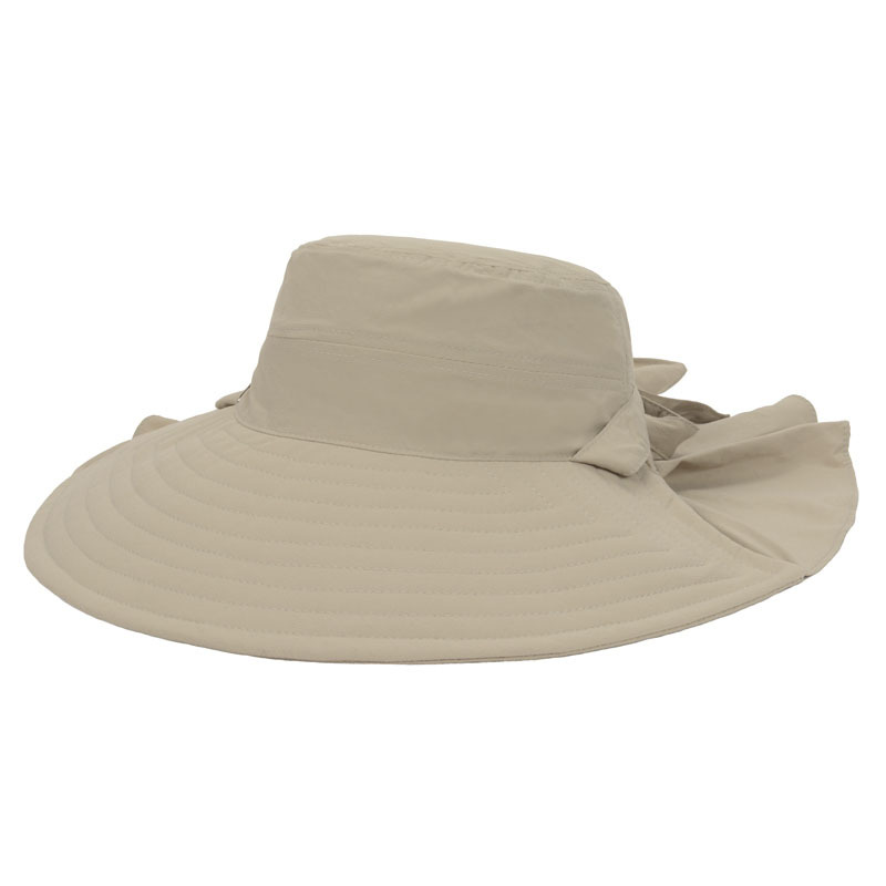 Get Quotations · New 2015 Women Foldable Large Wide Brim Hat Windproof Caps  For Lady Elegant Hats Beach Sun 06f2a8c7a752