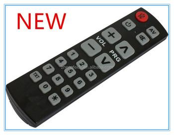 seniors Universal remote control SeKi Easy BLACK adaptive ; f kids