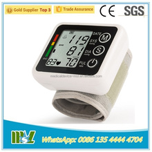 hospital medical electronic wrist blood pressure monitor with voice/home use blood pressure monitor