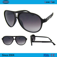 Plastic ray band UV400 sunglasses with your logo in supermarket