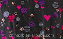 Fabric for Dickies Gen Flex Scrubs U Have My Heart Print Top