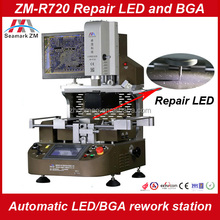 automatic smd pcb repair machine ZM-R720 bga rework station with optical laser for motherboard repair bga reballing tool