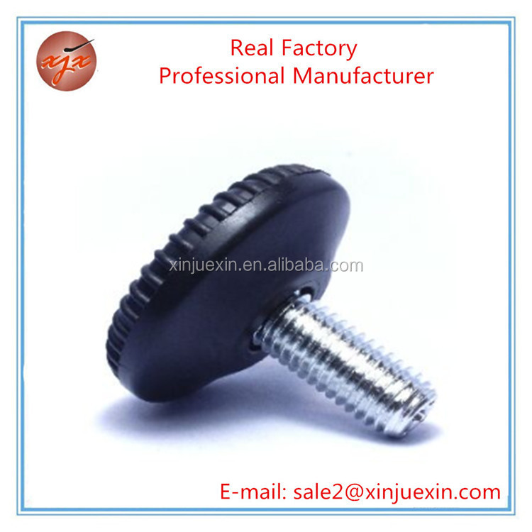 Promotional plastic corrosion- resistant fixed feet for furniture